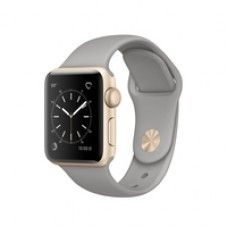 Apple Watch Series 1 38mm - Aluminiumgehäuse gold, Sp...