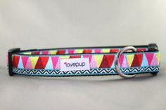 Mosaic Muse Dog Collar - Lovepup Designs
