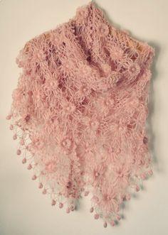 Pale Pink Shawl