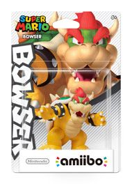 Boxshot: Bowser Super Mario amiibo Figure by Nintendo