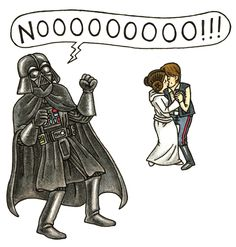 First there was Darth Vader and Son, now Jeffrey Brown's sequel, Vader's Little Princess, releases next month. What's it like to raise Princess Leia from toddler to teenager? Darth Vader Y Su Hijo, Darth Vader And Son, Darth Vader Face, Star Wars Comics, Star Wars Humor, Princess Leia, Little Princess, Princess Star, Princess Room