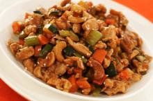 Cashew chicken!  One of my favorite meals my sister used to make when I lived with her!  Can't wait to try this!