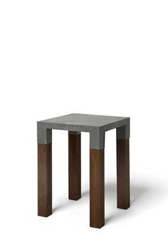 Tim Mackerodt Products. concrete bench on timber legs