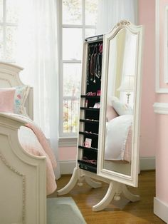 ⇒ Mirrors for the bedroom. OMG MUST HAVE - Home Gallery Furniture for Universal Bedroom, Cheval Storage Mirror. Wanting to purchase your own stylish bedroom mirror? Then visit this site. Room, Girls Bedroom Furniture, Home Decor, Bedroom Furniture, Standing Mirror, Room Decor, Bedroom Decor, Storage Mirror, Interior Design