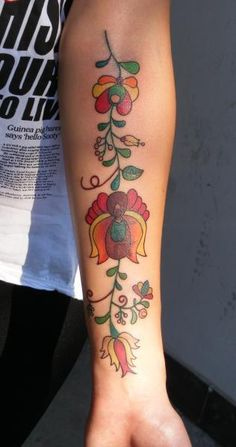 My next tattoo will look like this or something like this  Hungarian Folk Tattoo