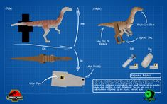 44 Best Jurassicraft Dinosaurs images | Artesanato ...