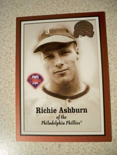 2000 Greats of the Game #6 Richie Ashburn Phillies NM/MT