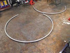 making a cyr wheel
