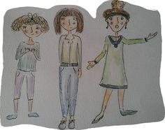 Character development illustration