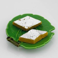 Kaju katli (also known as Kaju Katri or Kaju barfi) is an Nepalese dessert originating in India, similar to a barfi. Kaju means cashew nut in Hindi. Barfi is often but not always, made by thickening milk with sugar and other ingredients (dry fruits and mild spices).