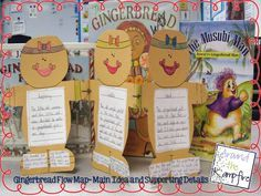Gingerbread unit story sequencing