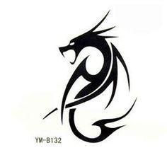 simple dragon stencil - Google Search