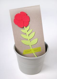 Plant a Flower Day Card - Sprouts wildflowers when you plant it! | Oh Happy Day!