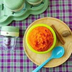 Receta de papilla de zanahoria con canela