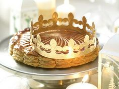 12th Night Cake - whoever gets the token baked into the cake gets to wear the crown and order everyone about!