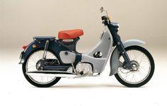 Honda C70 Cub - This is so perfect.
