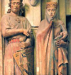 Ekkehard and Uta, west chapel sanctuary, Naumburg Cathedral, Germany c. 1245-60