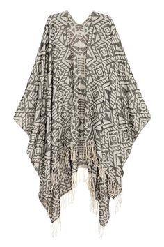 Poncho en tissu jacquard | H&M