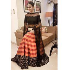 Tapsee Pannu wearing Priyal Prakash for a Diwali Bash Picture: Instagram