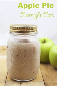 Apple Pie Overnight Oats (With Chia)