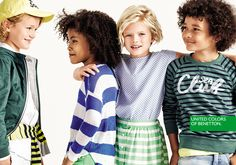 Kids Campaign Benetton Spring 2016