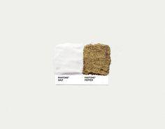 Pantone Pairings by David Schwen, via Behance