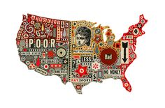 collage piece Smithsonian Illustration by Colin~Johnson, via Flickr