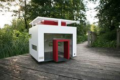 cubix modern dog house 2 Casa para perro a la última