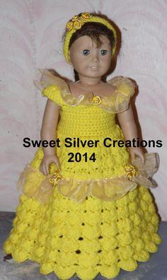 18 inch American Girl Crochet Pattern von SweetSilverCreations
