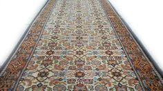 Perzische vintage tapijt loper 380 x 88 cm