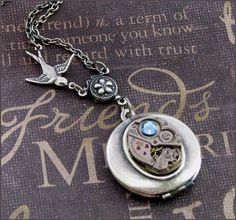 $27 steampunk locket