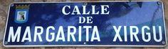 Calle Margarita Xirgu. Distrito Hortaleza. Madrid.