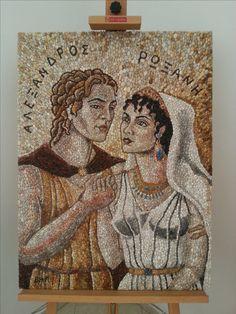 Cyrus The Great, Macedonia Greece, Greek Language, Alexander The Great, Greek Mythology, Ancient Greek, Ancient History, Mosaics, Modern Art