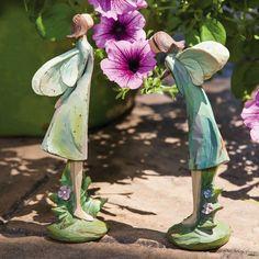 rock garden statues - Google Search