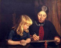 Michael Peter Ancher (1849 – 1927, Danish) | I AM A CHILD iamachild.wordpress.com500 × 393Buscar por imagen Anna Ancher With Helga  Erich Schütz, Raiding PINTOR - Buscar con Google