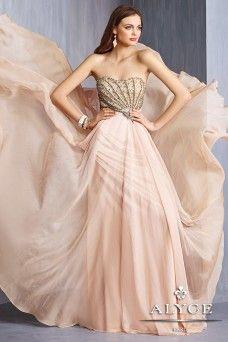 Alyce Prom estilo vestido # 6294 Vista completa