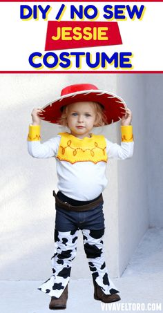 How to Make a Jessie Toy Story Costume. No Sewing Required! - Viva Veltoro