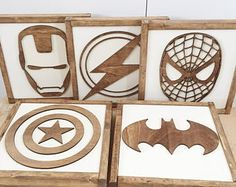 Superhero Sign- Superhero Wall Art- Boys Bedroom Decor- Neutral Nursery Decor- Superhero Nursery- Superhero Birthday- Kids Bedroom Decor by TheHandmadeSignCo on EtsyTap The Link And Save up to On Our Massive Sale! Kids Bedroom Boys, Boys Bedroom Decor, Boy Room, Nursery Decor, Boys Superhero Bedroom, Superhero Room Decor, Boy Bedrooms, Minions Bedroom Decor, Trendy Bedroom