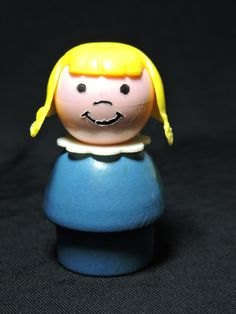 1970's Fisher Price Little People Wooden by StellaJaneDaisyMae
