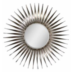 This stunning starburst mirror would look beautiful above an accent chest in a foyer.
