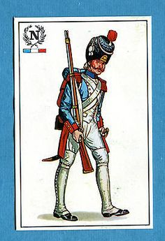 ARMI E SOLDATI - Edis 71 - Figurina-Sticker n. 223 - CACCIATORE FRANCESE -Rec