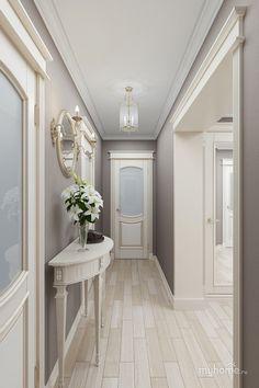Home Interior Classic .Home Interior Classic House Design, House Interior, Home Decor Furniture, House Rooms, Home Room Design, Home, Luxury Homes Interior, Hallway Designs, Small Studio Apartment Decorating