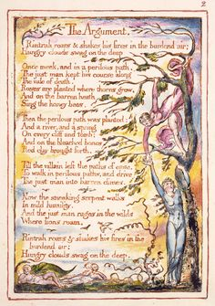 William Blake: 'The Marriage of Heaven and Hell', object 2. 1790 (composition date); 1827 (print date). Copy I; Fitzwilliam Museum, Cambridge, UK
