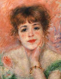 ♔ Jeanne Samary ~ Pierre-Auguste Renoir ~ 1877