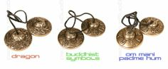 Buddhist Meditation Bells - Tingshas