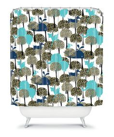 Take a look at this Hide & Seek Shower Curtain by DENY Designs on #zulily today!