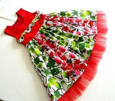 Christmas Dress Sewing Pattern for Girls - via @Craftsy
