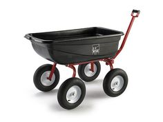 Ursa Turf Wagon garden cart. Awesome. Made in USA. Expensive but well built. Great investment. Got one last year and it was truly a work horse around the yard and garden.