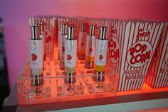 Bat Mitzvah Fun Food Ideas - Popcorn with Choose Your Own Topping Spray {5th Avenue Digital} - mazelmoments.com