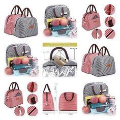 Fashion Zipper Lunch Bag Picnic Box Cosmetic For Women Girls Tote Handbag New Picnic Box, Tote Handbags, Simple Designs, Gym Bag, Zipper, Best Deals, Girls, Lunch, Travel